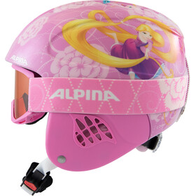 Alpina Carat Set Disney Casque Enfant, Rapunzel